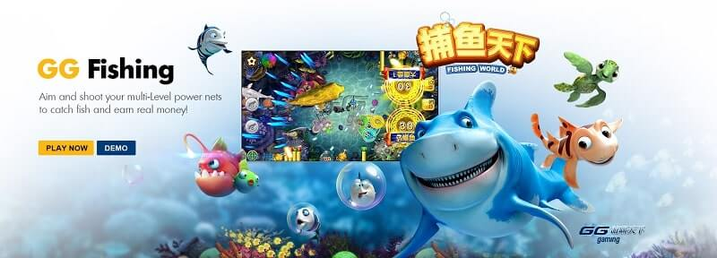 gg gaming fishing world online review