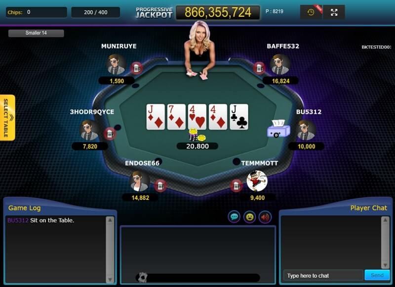 IDN Poker Texas Hold'em