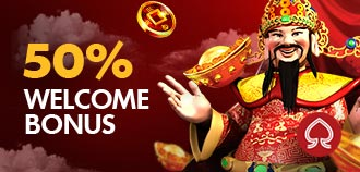 SLOTS 50% WELCOME BONUS