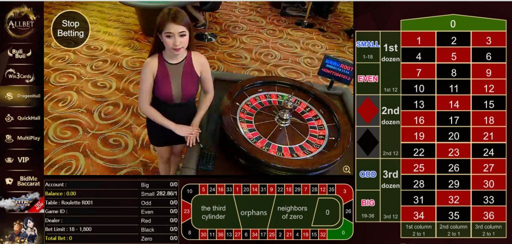 allbet roulette