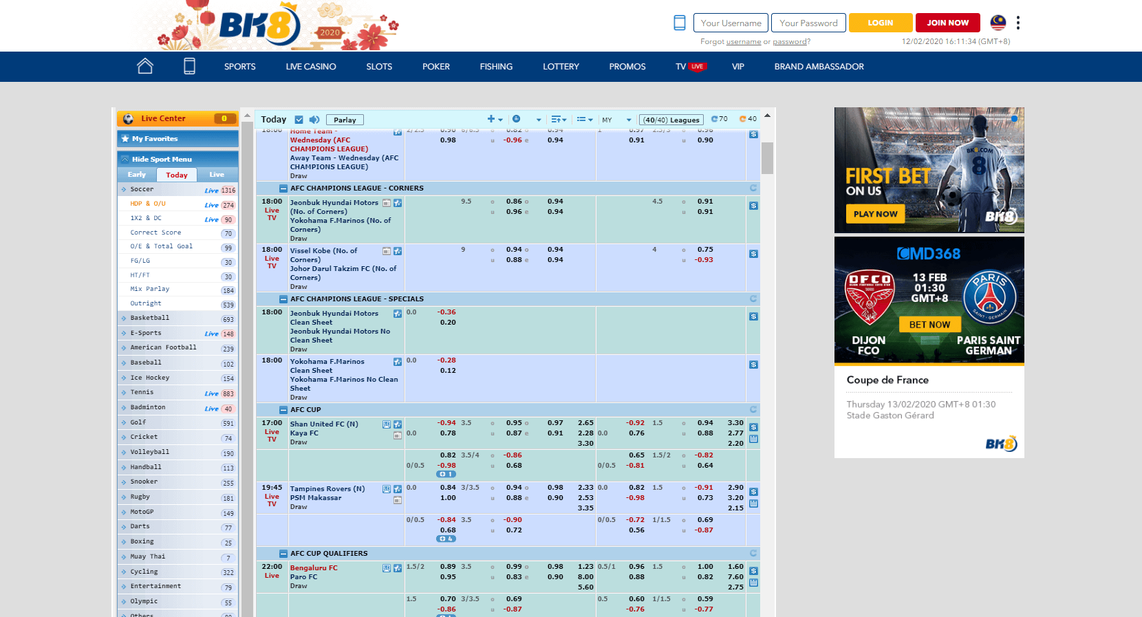 cmd368 sportsbook