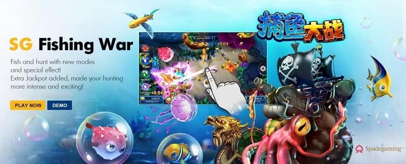 fishing war online fish shooting review