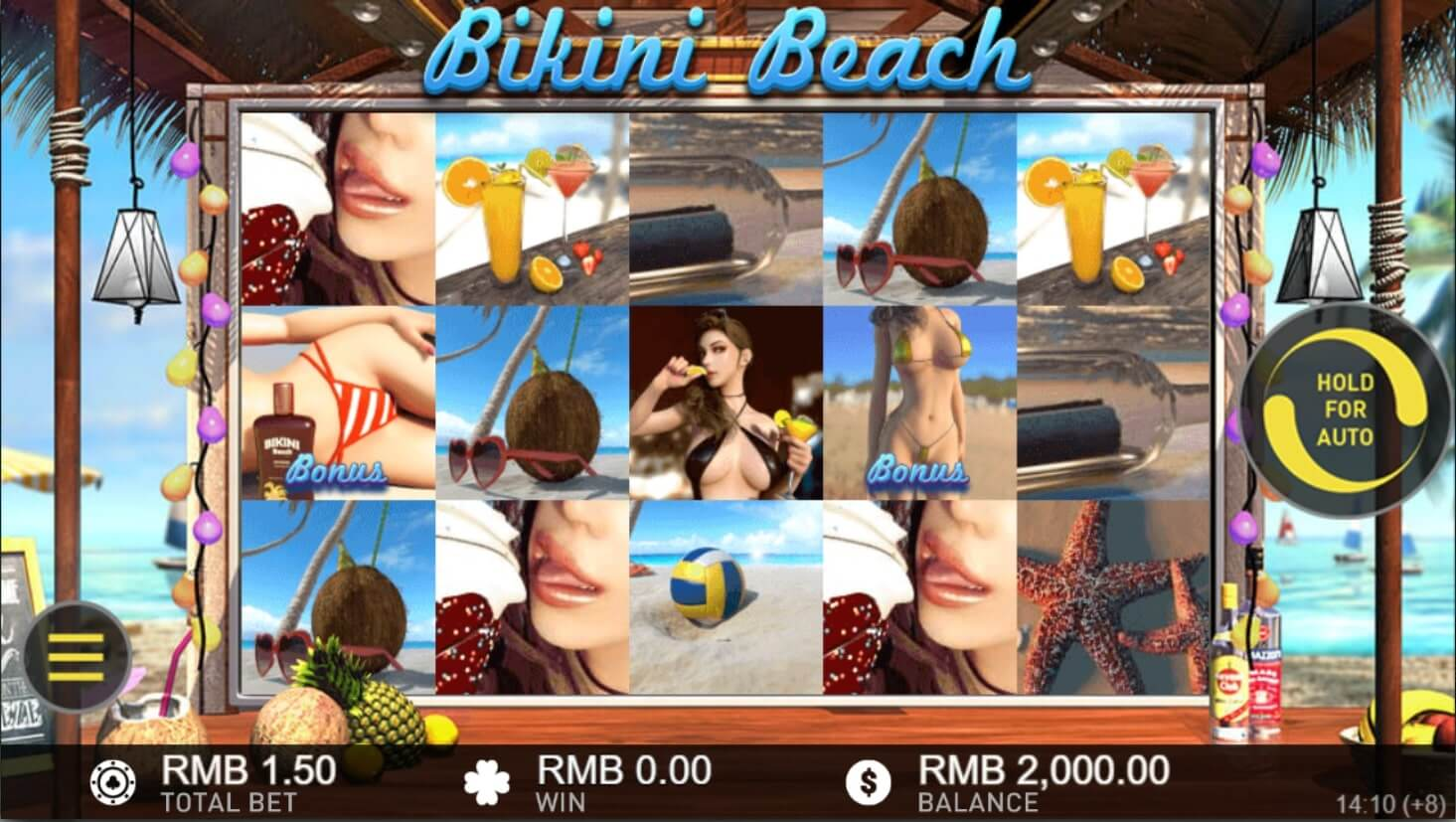 gameplay bikini beach