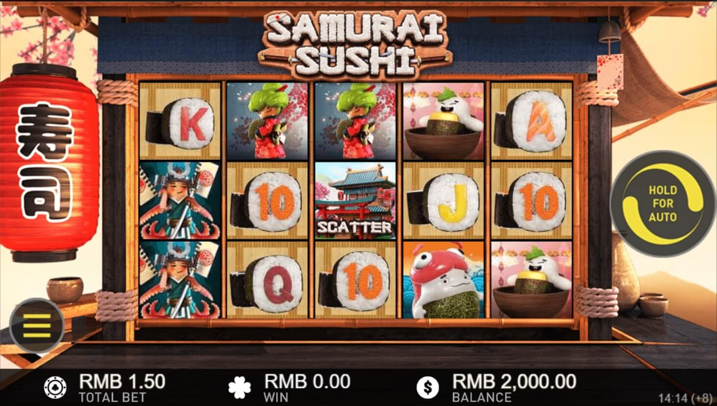 gameplay samurai sushi