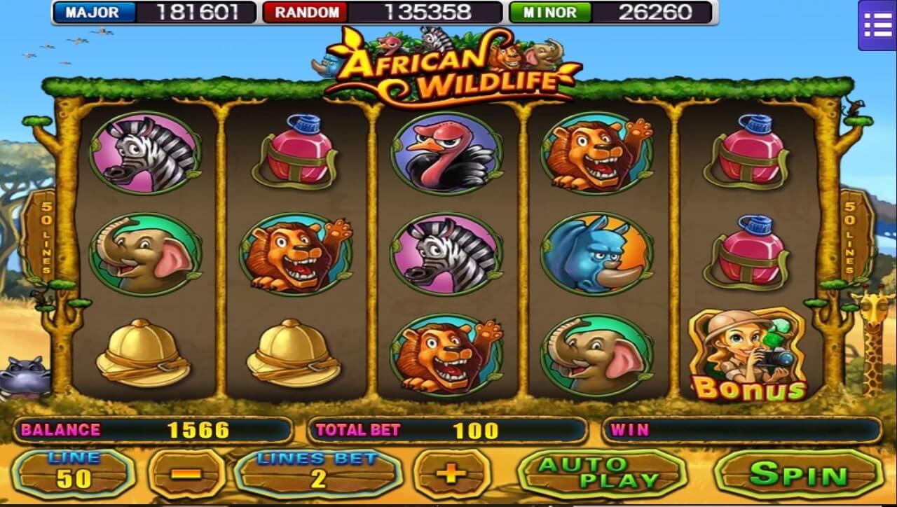 mega888 african wildlife
