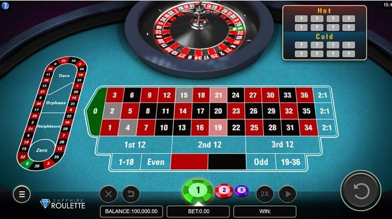 microgaming sapphire roulette