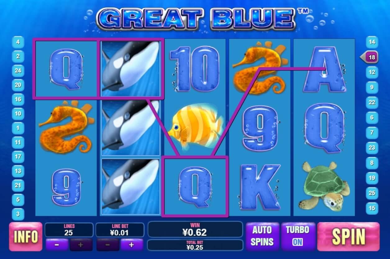 playtech great blue