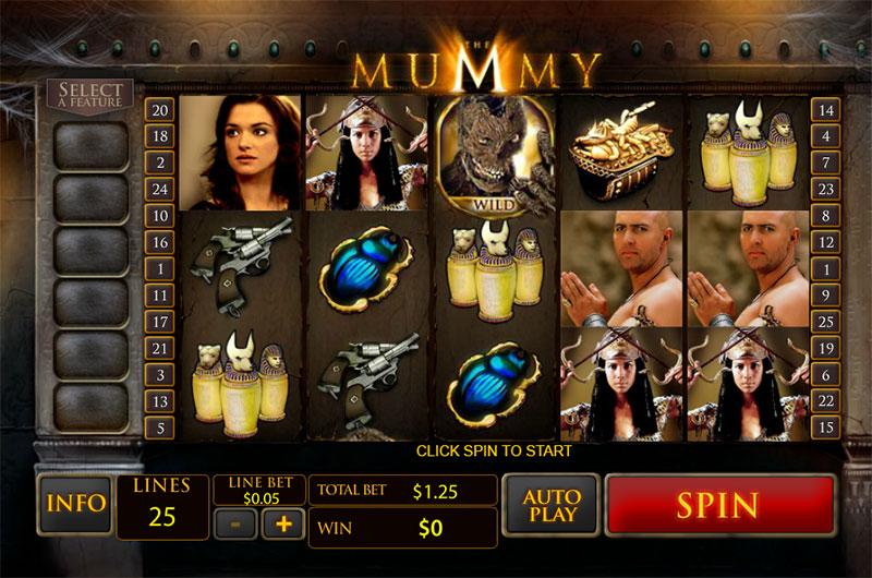 playtech the mummy