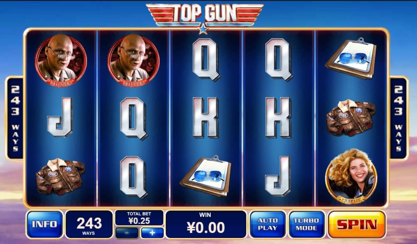 playtech top gun