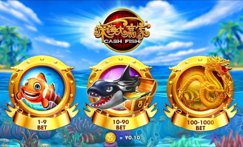 Playtech Cash Fish Online Fish Shooting Review
