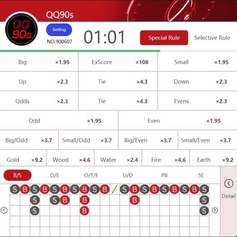 qqkeno results