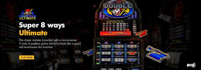 super 8 ways ultimate slot online review