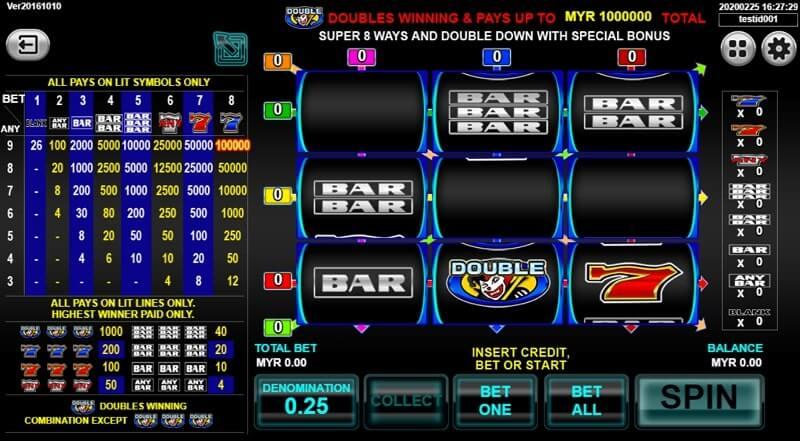 super 8 ways ultimate slot game