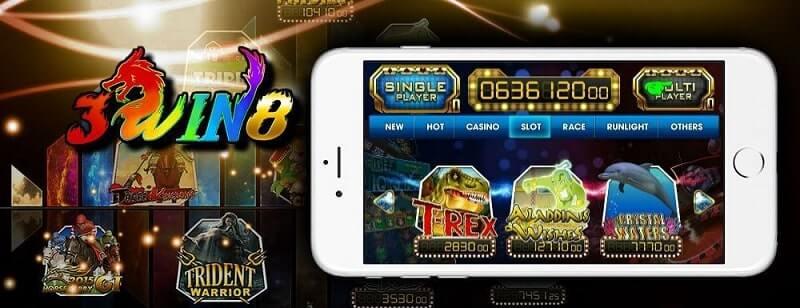 3win8 online casino mobile