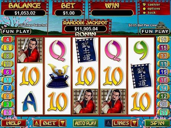 3win8 ronin slot game