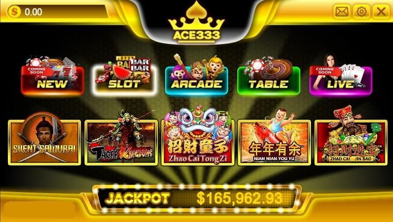 ace333 slot games