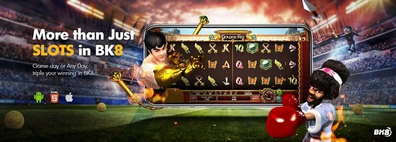 bk8 slot game banner