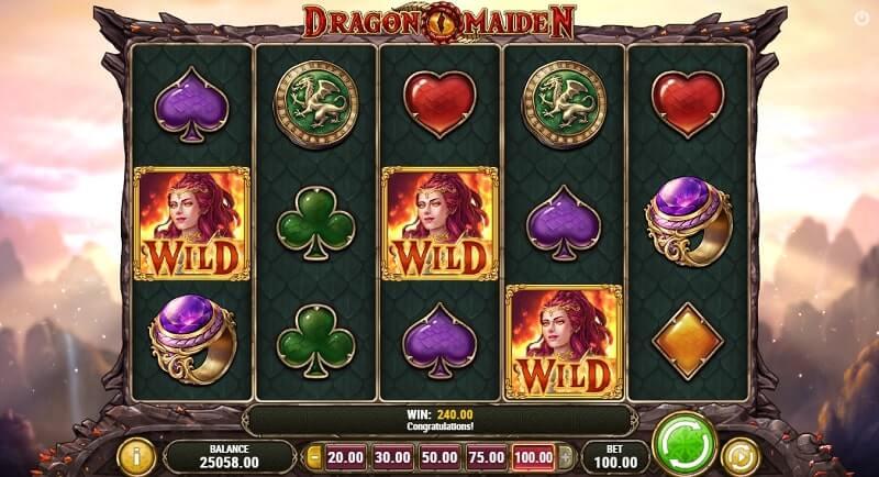 online casino dragon maiden