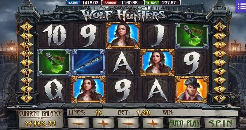 online casino wolf hunters