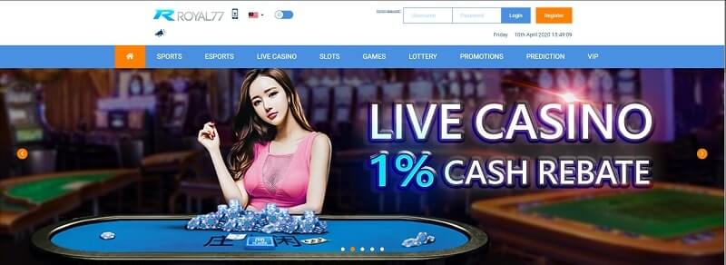 royal77 online casino review