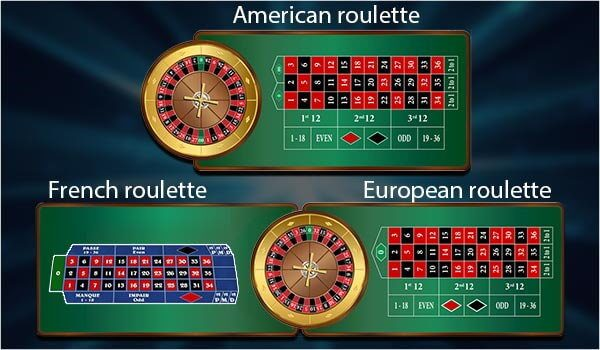 types of roulette