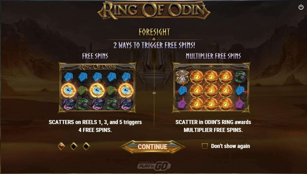 ring of odin foresight
