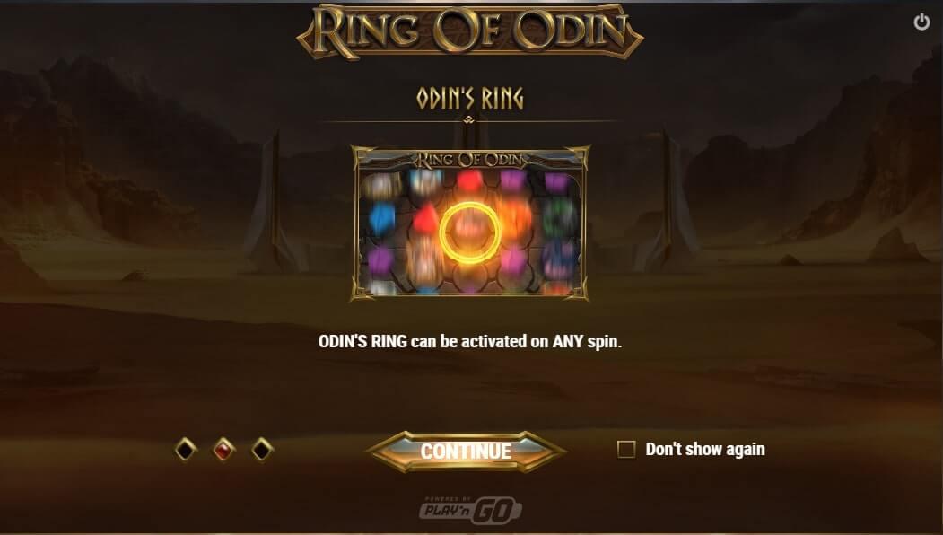 ring of odin - odin's ring