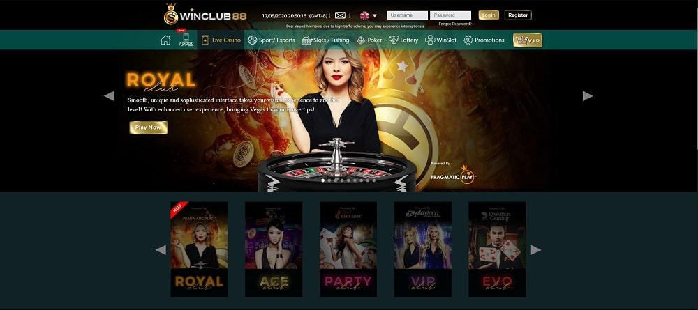 winclub88 live casino