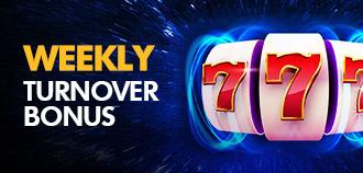 SLOTS WEEKLY TURNOVER BONUS MYR 1,288