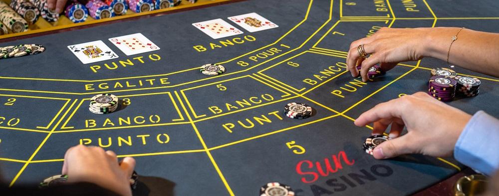 baccarat punto banco game