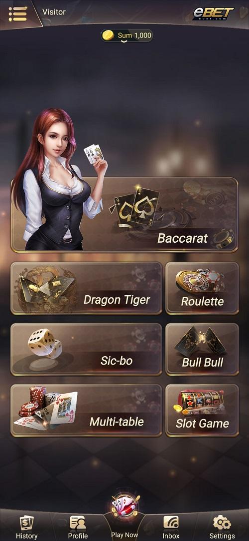 ebet online casino mobile app