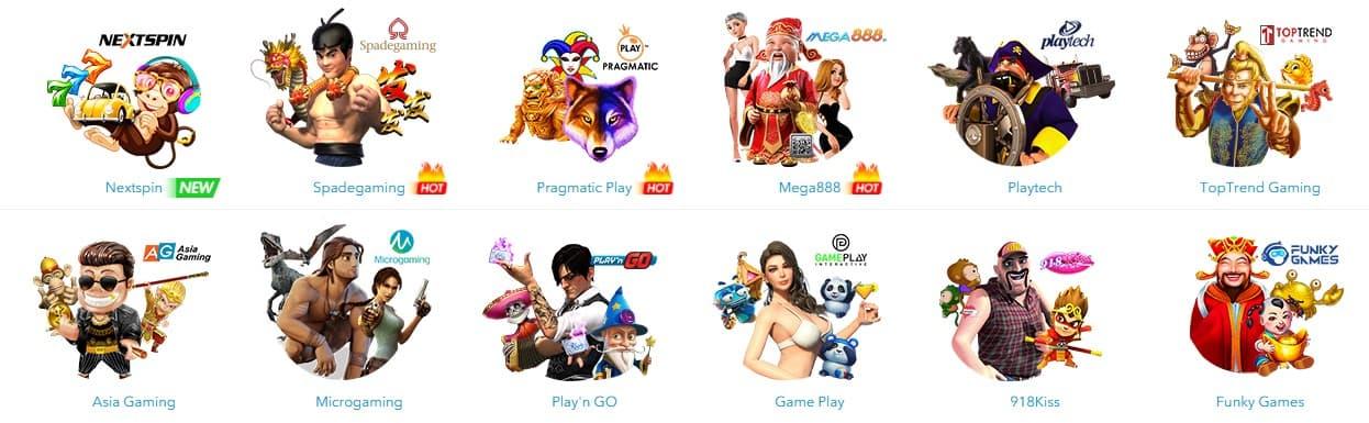 BK8 Slot Games