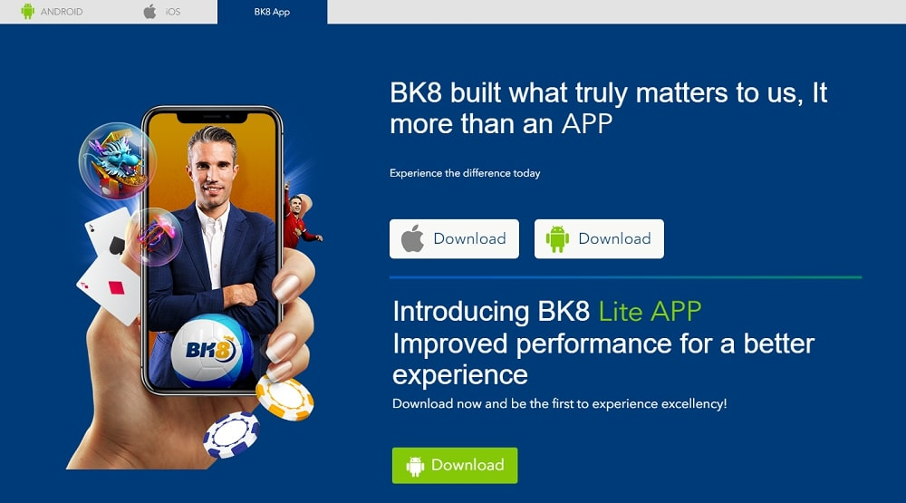 BK8 App Download